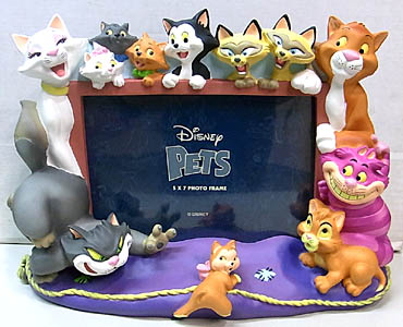 DISNEY PETS 5 x 7 PHOTO FRAME [CATS]