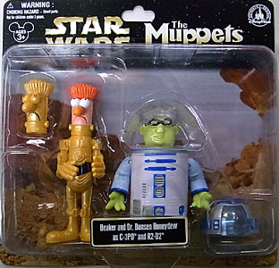 STAR WARS USA ディズニーテーマパーク限定 フィギュア THE MUPPETS 2PACK BEAKER AND DR.BUNSEN HONEYDEW AS C-3PO AND R2-D2