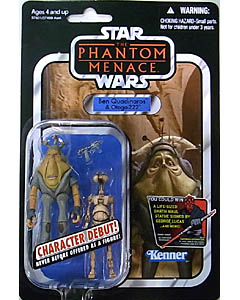 HASBRO STAR WARS 2012 THE VINTAGE COLLECTION BEN QUADINAROS & OTOGA-222 [THE PHANTOM MENACE]