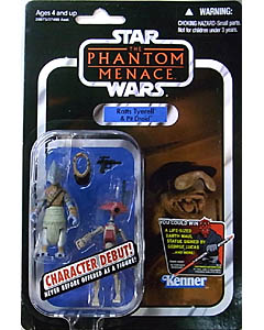 HASBRO STAR WARS 2012 THE VINTAGE COLLECTION RATTS TYERELL & PIT DROID [THE PHANTOM MENACE]