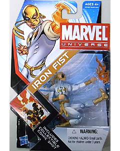 HASBRO MARVEL UNIVERSE SERIES 4 #006 IRON FIST 台紙傷み特価