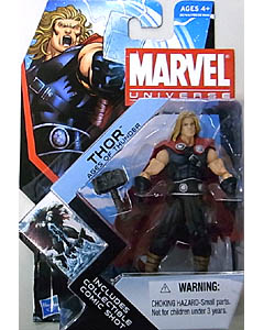 HASBRO MARVEL UNIVERSE SERIES 4 #001 THOR AGES OF THUNDER