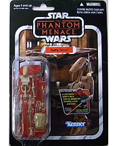 HASBRO STAR WARS 2012 THE VINTAGE COLLECTION BATTLE DROID [THE PHANTOM MENACE] 台紙傷み特価