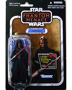 HASBRO STAR WARS 2012 THE VINTAGE COLLECTION DARTH MAUL [THE PHANTOM MENACE]