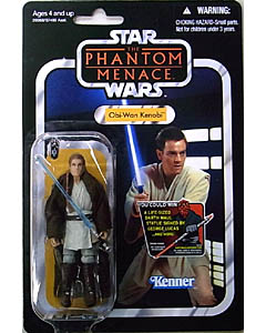 HASBRO STAR WARS 2012 THE VINTAGE COLLECTION OBI-WAN KENOBI [THE PHANTOM MENACE]