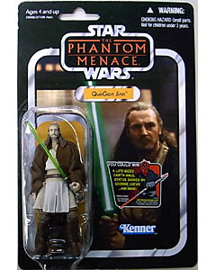 HASBRO STAR WARS 2012 THE VINTAGE COLLECTION QUI-GON JINN [THE PHANTOM MENACE]