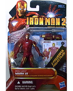 HASBRO 映画版 IRON MAN 2 3.75インチ MOVIE SERIES IRON MAN MARK VI 台紙傷み特価