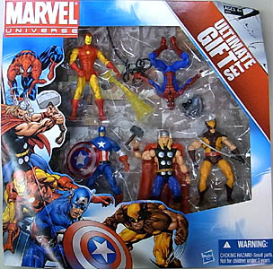 HASBRO MARVEL UNIVERSE ULTIMATE GIFT SET 5PACK