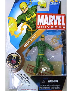 HASBRO MARVEL UNIVERSE SERIES 1 #017 VARIANT IRON FIST