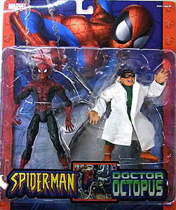 TOYBIZ SPIDER-MAN CLASSICS 2PACK SPIDER-MAN VS. DOCTOR OCTOPUS
