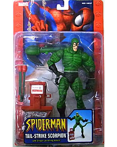 TOYBIZ SPIDER-MAN CLASSICS VILLAINS SERIES TAIL-STRIKE SCORPION