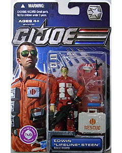HASBRO G.I.JOE 30TH ANNIVERSARY シングル EDWIN LIFELINE STEEN [RESCUE TROOPER]