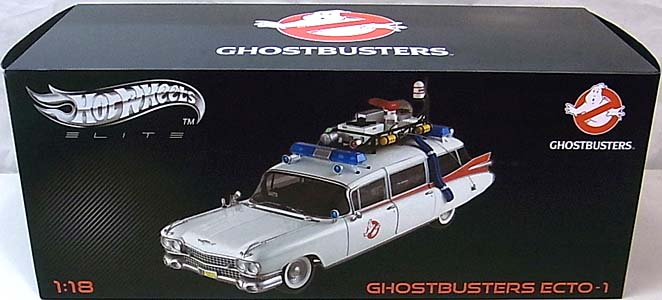 MATTEL HOT WHEELS 1/18スケール GHOSTBUSTERS ECTO-1 [ELITE]