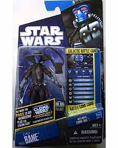 HASBRO STAR WARS THE CLONE WARS BASIC FIGURE CAD BANE