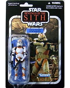 HASBRO STAR WARS 2010 THE VINTAGE COLLECTION CLONE TROOPER (212TH BATTALION) [REVENGE OF THE SITH]