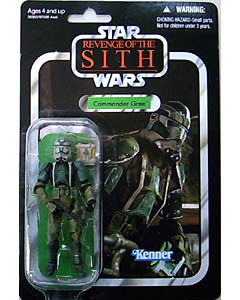 HASBRO STAR WARS 2010 THE VINTAGE COLLECTION COMMANDER GREE [REVENGE OF THE SITH]