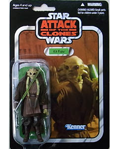 HASBRO STAR WARS 2010 THE VINTAGE COLLECTION KIT FISTO [ATTACK OF THE CLONES]