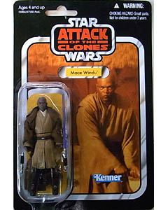 HASBRO STAR WARS 2010 THE VINTAGE COLLECTION MACE WINDU [ATTACK OF THE CLONES]