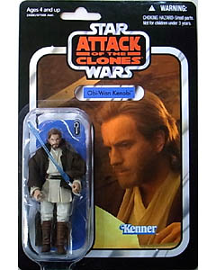 HASBRO STAR WARS 2010 THE VINTAGE COLLECTION OBI-WAN KENOBI [ATTACK OF THE CLONES]