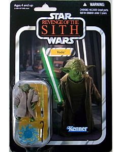 HASBRO STAR WARS 2010 THE VINTAGE COLLECTION YODA [REVENGE OF THE SITH]