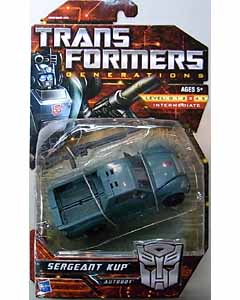 HASBRO TRANSFORMERS GENERATIONS DELUXE CLASS SERGEANT KUP