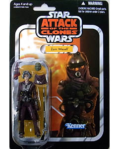 HASBRO STAR WARS 2010 THE VINTAGE COLLECTION ZAM WESELL [ATTACK OF THE CLONES]