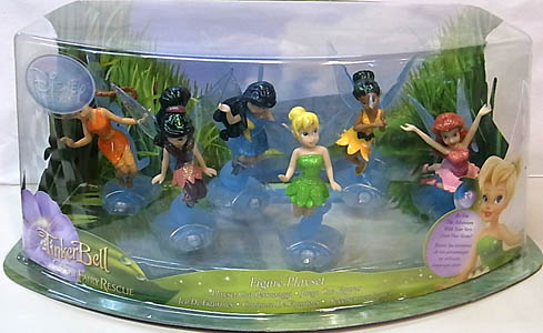 USA DISNEY STORE 限定 FIGURE SET TINKERBELL AND THE GREAT FAIRY RESCUE