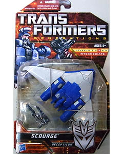 HASBRO TRANSFORMERS GENERATIONS DELUXE CLASS SCOURGE 台紙傷み特価