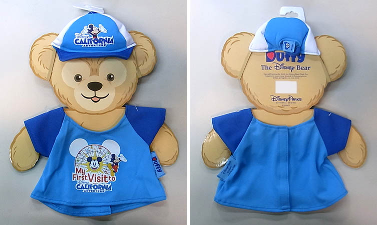 DISNEY USAディズニーテーマパーク限定 DUFFY THE DISNEY BEAR COSTUME [DISNEY'S CALIFORNIA ADVENTURE]