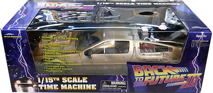 DIAMOND SELECT BACK TO THE FUTURE PART III 1/15スケール TIME MACHINE [RAIL READY VER.]
