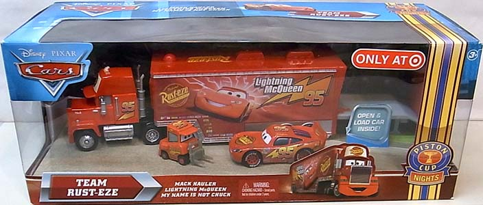 MATTEL CARS 2010 TEAM RUST-EZE