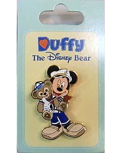DISNEY USAディズニーテーマパーク限定 DUFFY THE DISNEY BEAR PINS [DUFFY MICKEY]