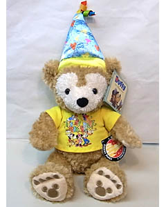 DISNEY USAディズニーテーマパーク限定 DUFFY THE DISNEY BEAR 12INCH BIRTHDAY DUFFY THE DISNEY BEAR