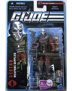 HASBRO G.I.JOE THE PURSUIT OF COBRA シングル DESTRO [WEAPONS SUPPLIER] NO.1107