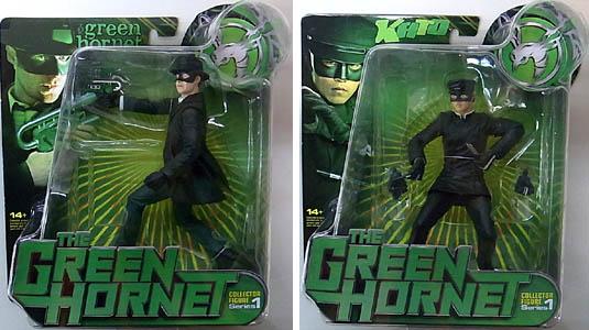 FACTORY ENTERTAINMENT 映画版 GREEN HORNET 6インチアクションフィギュア 2種セット