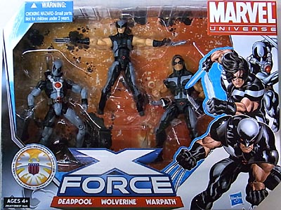 HASBRO MARVEL UNIVERSE 3PACK X-FORCE