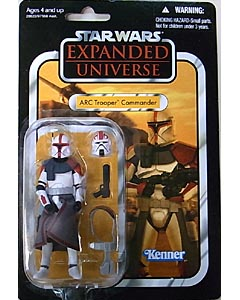 HASBRO STAR WARS 2011 THE VINTAGE COLLECTION ARC TROOPER COMMANDER [EXPANDED UNIVERSE]
