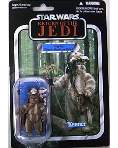 HASBRO STAR WARS 2011 THE VINTAGE COLLECTION LOGRAY (EWOK MEDICINE MAN) [RETURN OF THE JEDI] 台紙傷み特価