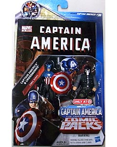 HASBRO 映画版 CAPTAIN AMERICA: THE FIRST AVENGER USA TARGET限定 3.75インチ COMIC PACK COMIC SERIES CAPTAIN AMERICA & CROSSBONES