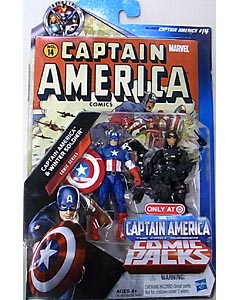HASBRO 映画版 CAPTAIN AMERICA: THE FIRST AVENGER USA TARGET限定 3.75インチ COMIC PACK COMIC SERIES CAPTAIN AMERICA & WINTER SOLDIER