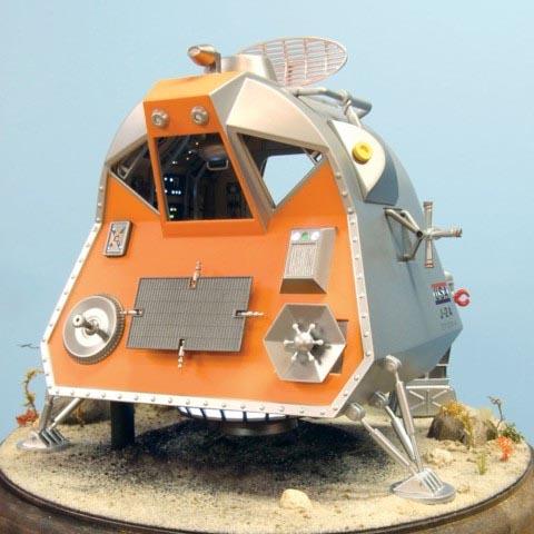 メビウスモデル 1/24スケール 宇宙家族ロビンソン スペースポッド 完成品