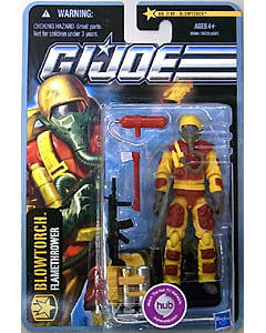 HASBRO G.I.JOE THE PURSUIT OF COBRA シングル BLOWTORCH [FLAMETHROWER] NO.1109 台紙傷み特価