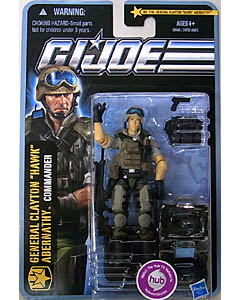 HASBRO G.I.JOE THE PURSUIT OF COBRA シングル GENERAL CLAYTON -HAWK- ABERNATHY [COMMANDER] NO.1110