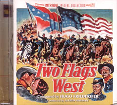 TWO FLAGS WEST 西部の二国旗 / NORTH TO ALASKA アラスカ魂 2作収録
