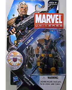 HASBRO MARVEL UNIVERSE SERIES 3 #007 CABLE 台紙傷み特価