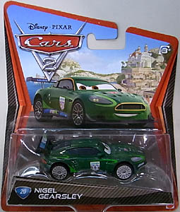 MATTEL CARS2 シングル NIGEL GEARSLEY