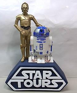 STAR WARS USAディズニーテーマパーク限定 STAR TOURS C-3PO & R2-D2 ソフビバンク