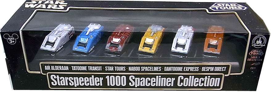 STAR WARS USAディズニーテーマパーク限定 STAR TOURS STARSPEEDER 1000 SPACELINER COLLECTION