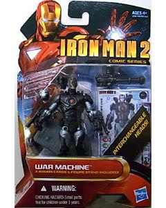HASBRO 映画版 IRON MAN 2 3.75インチ COMIC SERIES WAR MACHINE [UNMASKED]