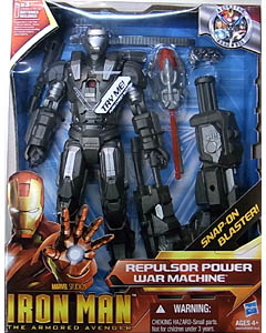 HASBRO IRON MAN THE ARMORED AVENGER ARMOR 10インチ トーキング REPULSOR POWER WAR MACHINE